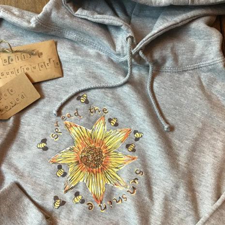 Sally's Sunflowers 'Spread The Sunshine' Hoodie