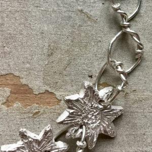 Sally's Sunflowers 'Spread The Sunshine' Silver Link Bracelet