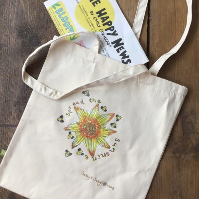 Sally's Sunflowers Good News & Sunshine Bag Sunflower