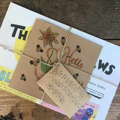 Sally's Sunflowers Sunshine and Happy News Gift Care Kit