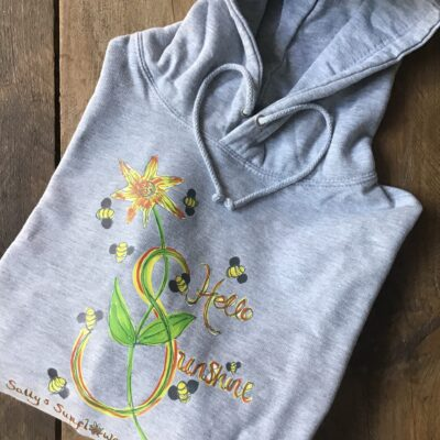 Sally's Sunflowers Hello Sunshine Hoodie