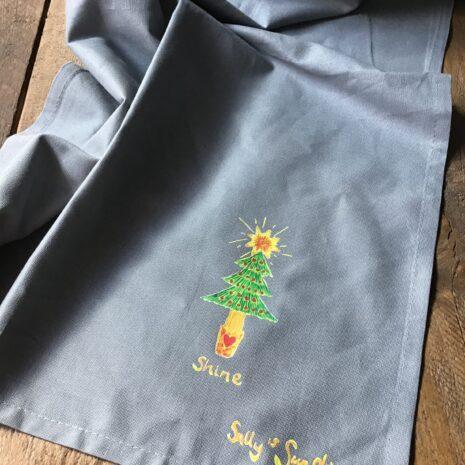 Shine Christmas Tea Towel