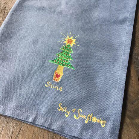Shine Tea Towel