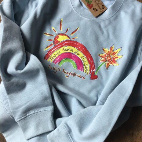 Kids Baby Blue Sweatshirt